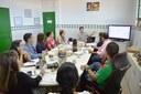 Equipe da Diretoria de Política de Educação a Distância se reúne no Campus Amajari