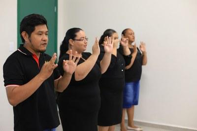Encerramento do curso contou com apresentações dos alunos