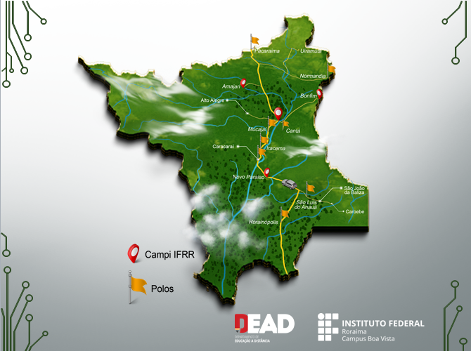 Mapa de Cursos do IFRR