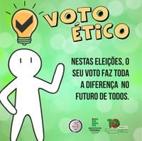 ANIVERSÁRIO DO IFRR – Palestra sobre voto ético e cidadania marca lançamento de mais uma campanha de utilidade pública