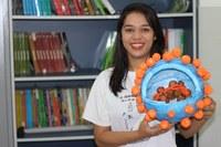 DESTAQUE ACADÊMICO – Formanda do curso de Licenciatura em Ciências Biológicas é aprovada para curso de mestrado