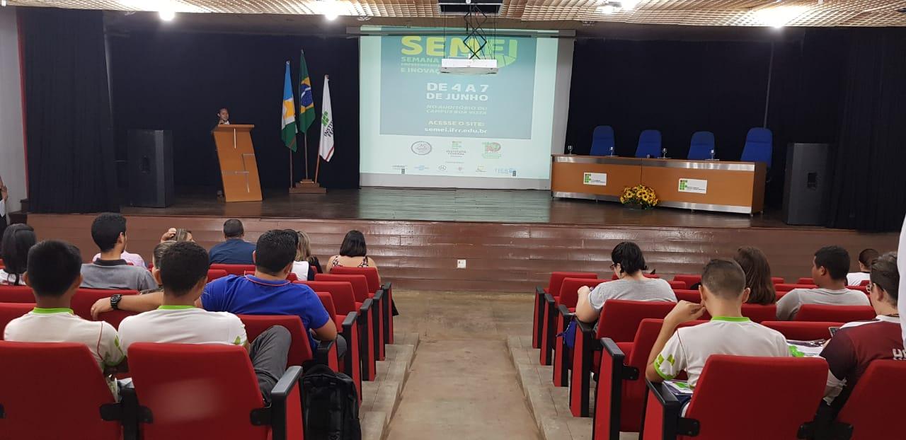 Iniciada Semana de Empreendedorismo e Inovação do IFRR (Semei)