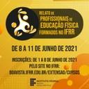 LICENCIATURA EM EDUCAÇÃO FÍSICA - Evento apresenta relatos de experiências dos acadêmicos