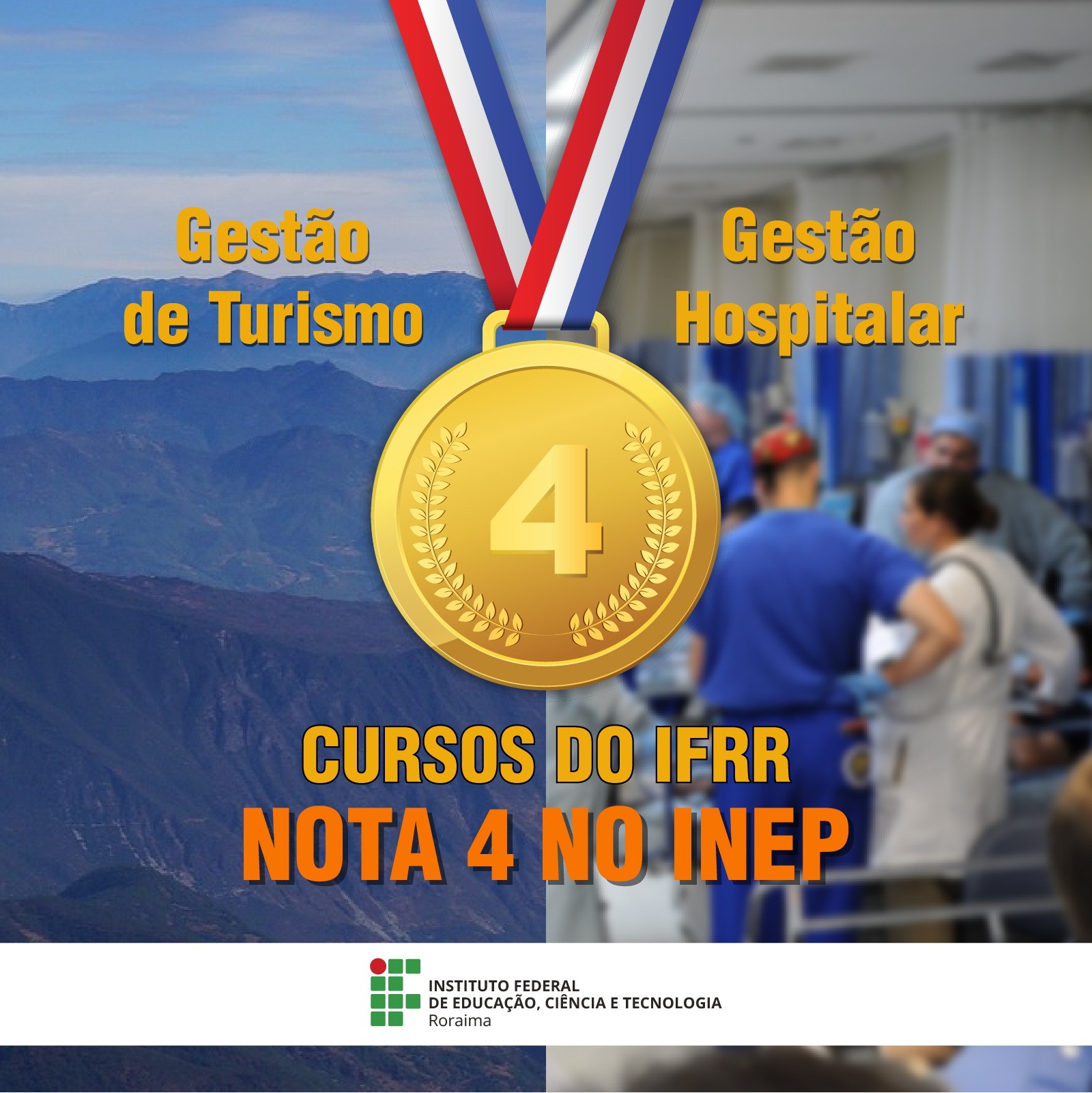 Mais um curso do Campus Boa Vista alcança nota 4 em avaliação de Renovação de Reconhecimento