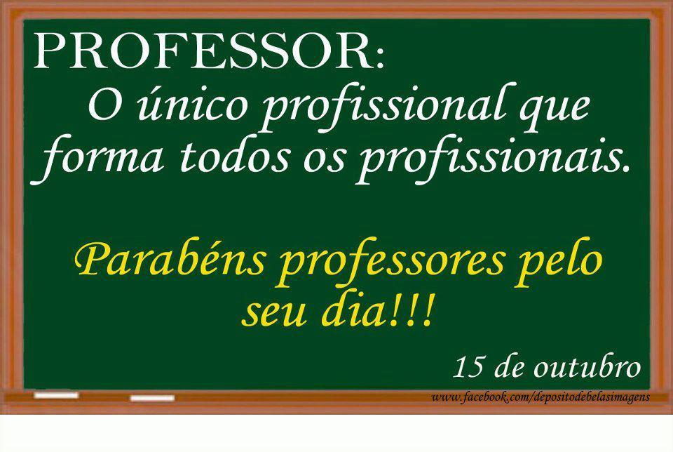 Mensagem ao Dia do Professor
