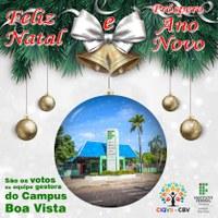 Servidores do Campus Boa Vista recebem mensagem de fim de ano