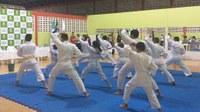 PROJETO SOCIAL – Projeto Karatê-Do concede graduação a 11 alunos em solenidade no Campus Boa Vista