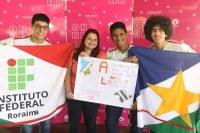 Representantes do IFRR conquistam medalha de cristal na ONHB 2018