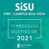 SISU 2021 – Campus Boa Vista divulga cursos e vagas disponíveis para  seleção