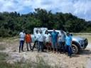 Campus Amajari faz doação de alevinos de tambaqui para projeto do Campus Novo Paraíso