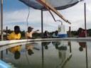Grupo de professores moçambicanos faz intercâmbio no Campus Novo Paraíso