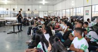 Novos alunos dos cursos técnicos do CNP ganham evento de acolhida