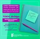 Divulgado resultado preliminar do curso preparatório para o exame TOEIC Bridge