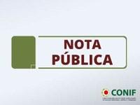 NOTA PÚBLICA CONIF COVID-19